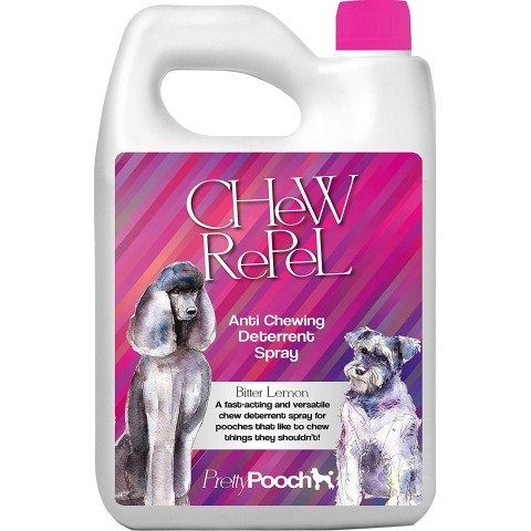 Pretty Pooch Dog Anti Chewing Deterrent Spray - Bitter Lemon